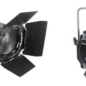 Light Emotion LED 120 watt Cool White Fresnel with Barn Doors