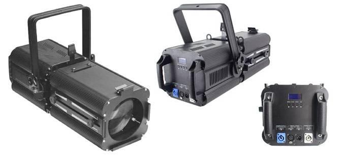 Light Emotion LED 180 watt RGBW Zoom Spot 16 - 50 degree