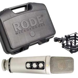 "Rode NT2000 Seamlessly Variable Dual 1"" Condenser"