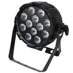 Event Lighting PARRGBWAU 12 x 12 Watt (Six Colour LED With UV)