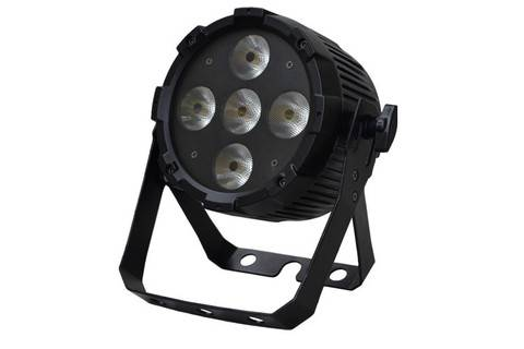 Event Lighting PARRGBWAU 5 x 12Watt (Six Colour LED With UV)