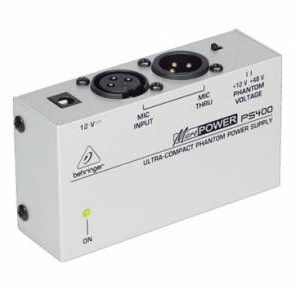 Behringer PS400 Phantom Power Supply