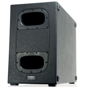 "QSC KS212C 2x12"" 3600w Powered Cardiod PA Subwoofer"