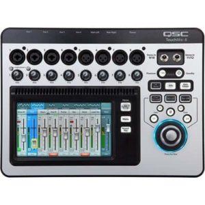 QSC TouchMix-8  12 input compact digital mixer