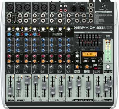 Behringer QX1222USB 12 Channel PA Mixer