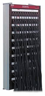 LSC  RBP/84 Redback Patch Bay with 84 Patch Leads