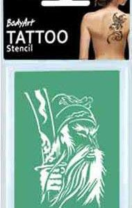 Tattoo Stencil TS37 Wizard