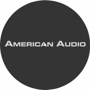 American Audio Slipmat A Black, Single