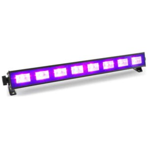 Beamz BUV93 UV LED BAR With 8 X 3W UV LEDs