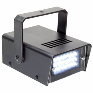 Beamz Ministrobe LED Compact Strobe Light