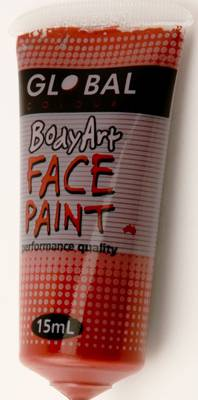 BROWN - FACE & BODY PAINT - 15ml Tube