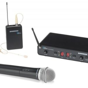 Samson CON88-PRO Combo Dual Channel Wireless System