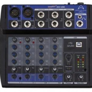 Wharfedale CONNECT802USB Mixer