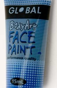 DEEP BLUE - FACE & BODY PAINT - 15ml Tube