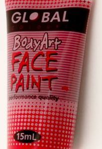 DEEP RED - FACE & BODY PAINT - 15ml Tube