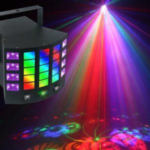 Light Emotion DERBY4 4-in-1 Disco Light