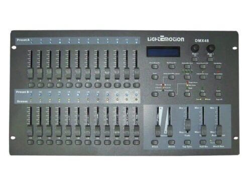 Light Emotion DMX48 24/48 Channel DMX Lighting Desk