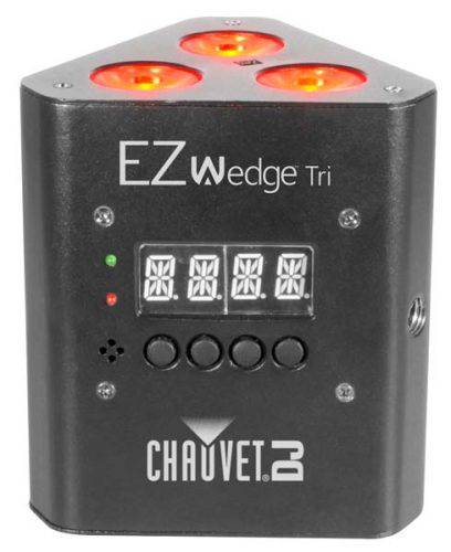 Chauvet DJ EZWEDGE-TRI battery powered wash light.