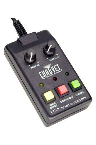 Chauvet DJ Hurricane FC-T Smoke Machine Timer Remote
