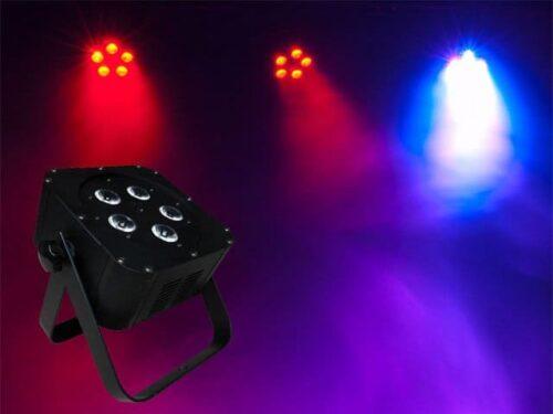 Light Emotion Flat0505 5 x 5watt RGBW LED Wash Light