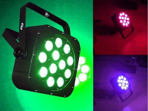 Light Emotion FLAT1212 12 x 10W RGBWA/UV LED Wash Light