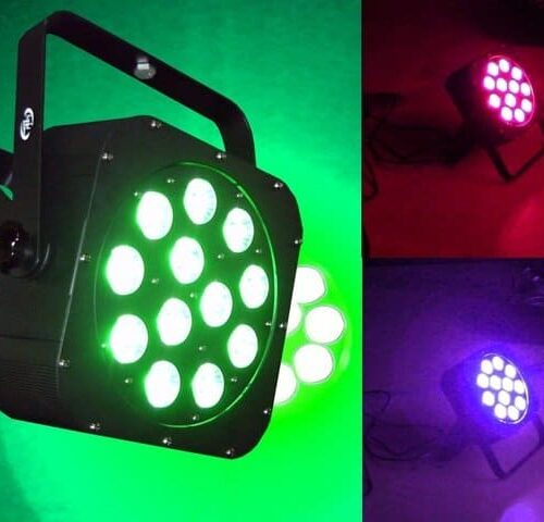 Light Emotion FLAT1212 12 x 10W RGBWA/UV LED Wash Light