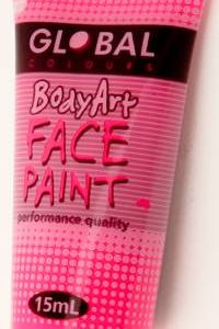 FLOURO PINK - FACE & BODY PAINT - 15ml Tube