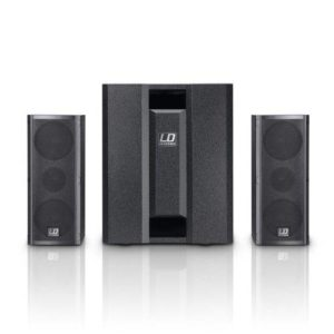 LD SYSTEMS DAVE8-ROADIE 2.1 Split PA System 700w