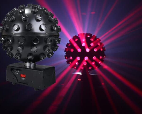 Light Emotion LED BALL - 5 x 15W RGBWAU LEDs