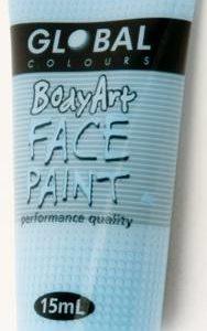 LIGHT BLUE - FACE & BODY PAINT - 15ml Tube