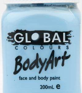 LIGHT BLUE - FACE & BODY PAINT - 200ml Jar
