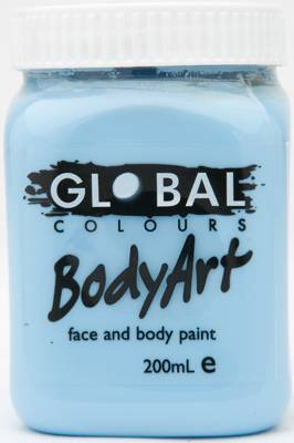 LIGHT BLUE - FACE & BODY PAINT - 200ml Jar