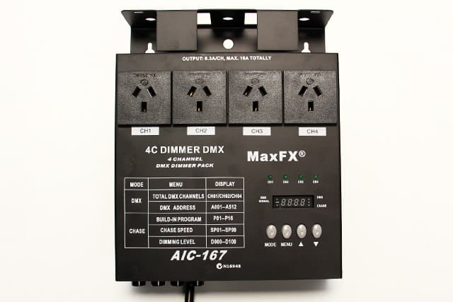 MAX FX Four Channel Dimmer / Switch