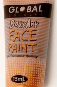 METALLIC GOLD - FACE & BODY PAINT - 15ml Tube