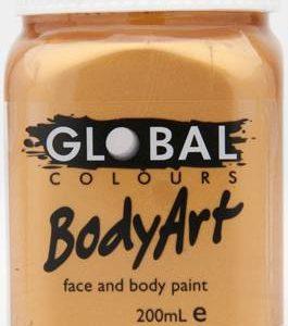 METALLIC GOLD - FACE & BODY PAINT - 200ml
