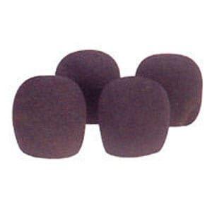 AVE VOX-SOKB Black Foam Microphone Windsocks  5 Pack