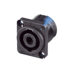 Neutrik NL4MP 4 Pole Speakon Panel Mount Connector