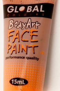 ORANGE - FACE & BODY PAINT - 15ml Tube