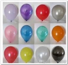 Orrtex 100 Latex Balloons - Metallic (Pearl) Colours