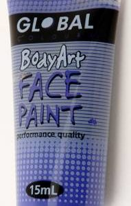 PURPLE - FACE & BODY PAINT - 15ml Tube