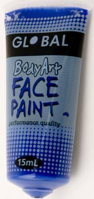ULTRA BLUE - FACE & BODY PAINT - 15ml Tube