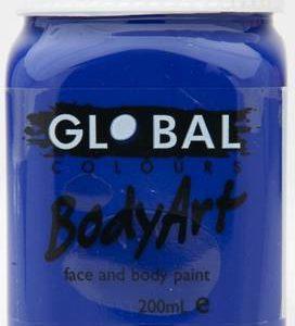 ULTRA BLUE - FACE & BODY PAINT - 200ml Jar