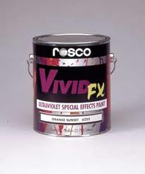 Rosco Vivid FX Fluorescent Paint - Bright White - 0.47 Litre