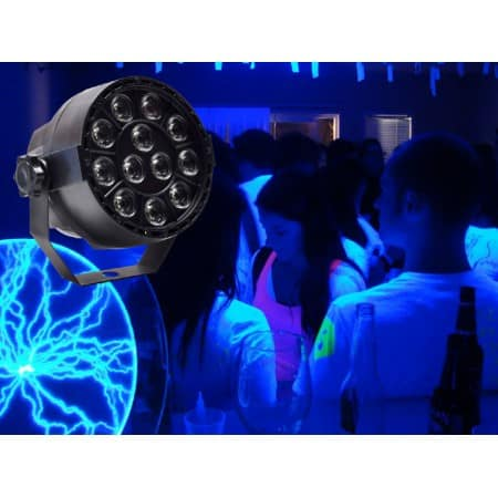 Light Emotion VIVID UV  12 x 3w UV LEDs with DMX